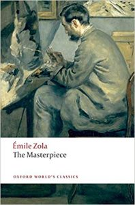 Cover of The Masterpiece by Emile Zola