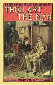 Cover of Thou Art the Man by Mary Elizabeth Braddon