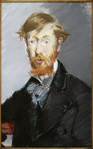 Portrait of George Moore by Edouard Manet
