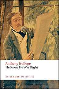Cover of He Knew He Was Right by Anthony Trollope