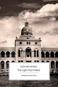 Cover of The Light that Failed by Rudyard Kipling