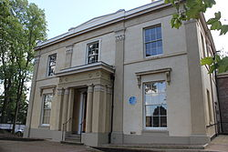Elizabeth Gaskell's house at 84 Plymouth Grove