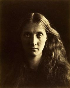 Photo of Julia Prinsep Jackson by Julia Margaret Cameron